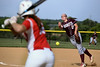 Abington's Nikki Ray pitches to Souderton's Alex Scheeler during their District 1-AAAA second round game on  Wednesday, May 20, 2015. (Bob Raines/Montgomery Media)