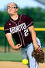 Bob Raines--Montgomery Media / Nikki Ray pitches for Abington during the May 20, 2015 game at Souderton.