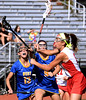 Bob Raines--Montgomery Media / Souderton's Carlie Doughty takes a shot on goal against Downingtown West May 14, 2015.