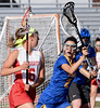 Bob Raines--Montgomery Media / Souderton's Carlie Doughty and  Downingtown West's Jenna Garber May 14. 2015.
