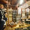 Laura Bradley, owner of the Spaulding Cooperage Antique Co-op in Townsend. SENTINEL & ENTERPRISE / Ashley Green
