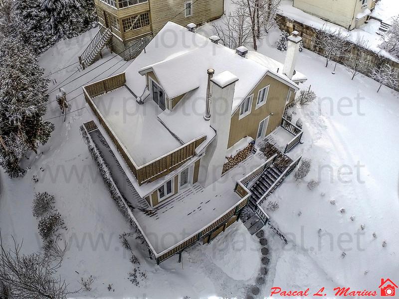 Photographie immobilière aérienne par Drone ou par Pôle