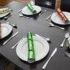 festive dining table