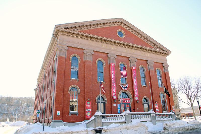 Fitchburg City Hall on main Street. SENTINEL & ENTERPRISE/JOHN LOVE