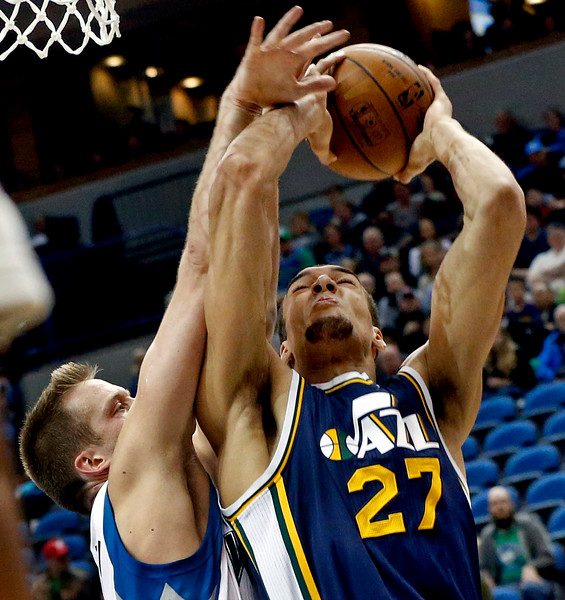 Jazz Timberwolves Basketball