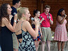 Mark C Psoras--The Reporter<br /> The North Penn High School Ambassadors perform during Towamencin Community Day events at Fischer's Park on Saturday May 16,2015.