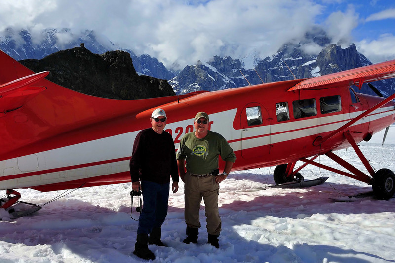 Glacier flightseeing in Talkeetna