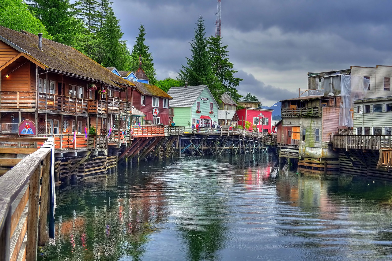Creek Street, Ketchikan