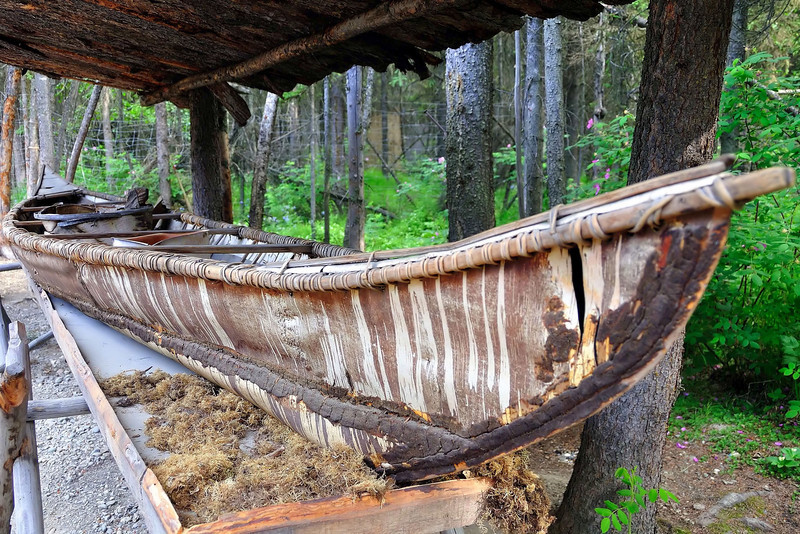 Athabaskan canoe
