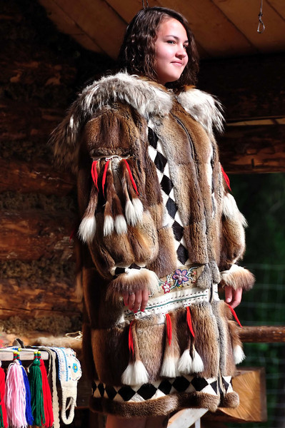 Athabaskan native dress