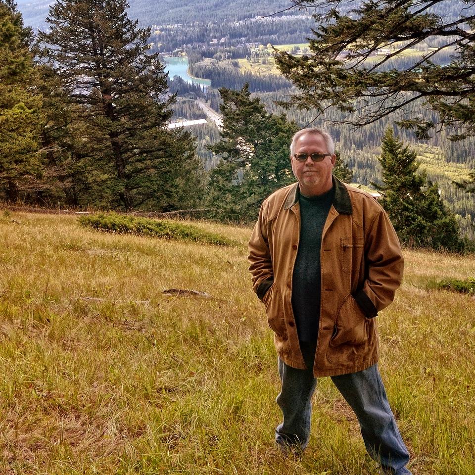 At Mount Norquay Overlook