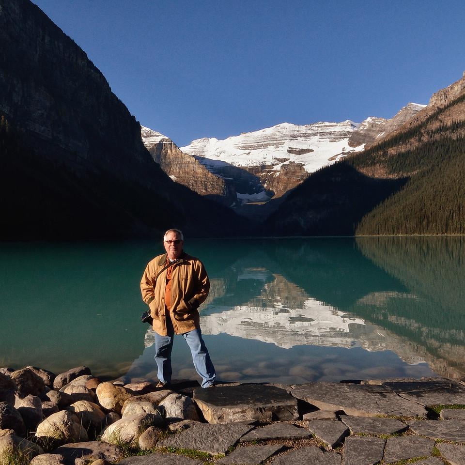 At Lake Louise