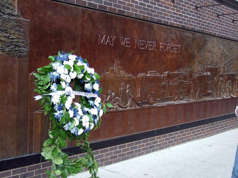 Near the World Trade Center site
