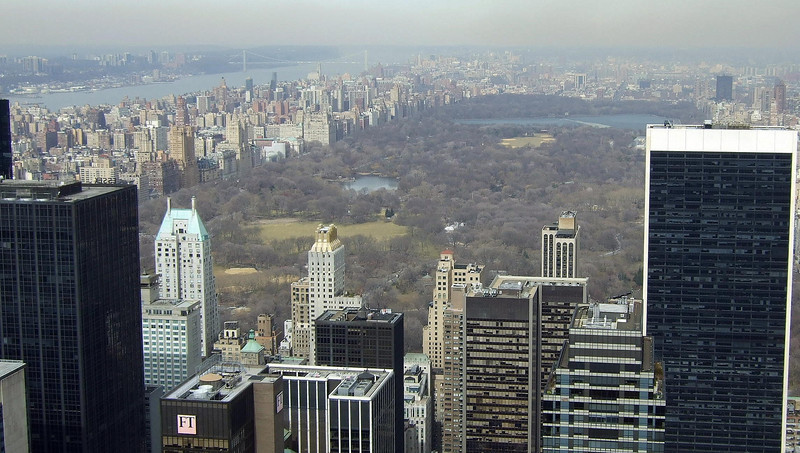 Central Park from 30 Rock