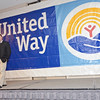 Comedian Jim Colliton, best known for Comedy Central's Laugh Riots, entertains the crowd during the United Way of North Central Massachusetts 35th Campaign Recognition and Thank-You Event on Wednesday evening. SENTINEL & ENTERPRISE / Anna Burgess