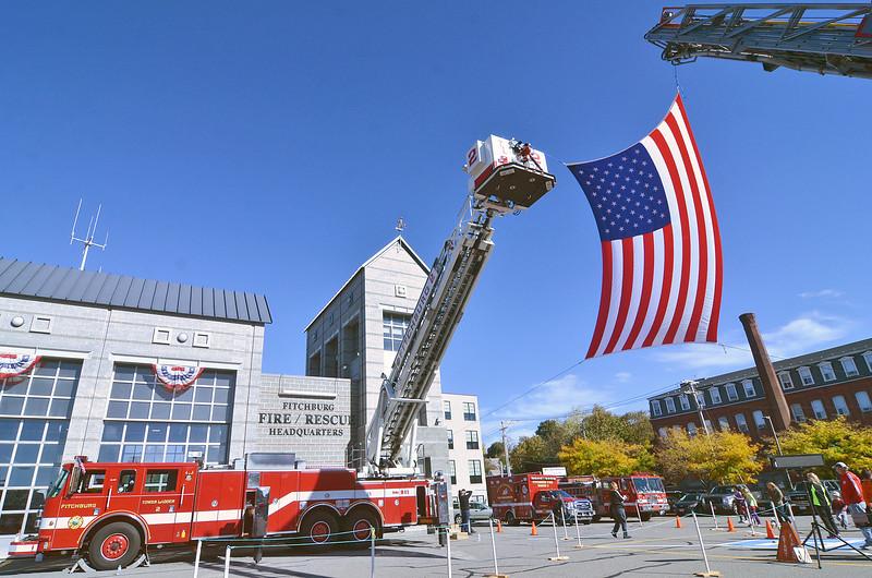 The Verne Roy Fitchburg Firefighter 5K was held in Fitchburg on October 25. SENTINEL & ENTERPRISE / Ashley Green
