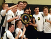 Bob Raines--Montgomery Media<br /> Archbishop Wood wins the PCL Volleyball Championship Friday, May 15, 2015 in three straight games against Lansdale Catholic.