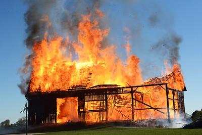 Fire, Firefighters, Barn Fire, Structure Fire, Burn Drill, York Fire Department, Leicester Fire Department, Cuylerville Fire Department, Mt. Morris Fire Department, Bethany Fire Department, LeRoy Fire Department, East Avon Fire Department.