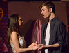 "Bob Raines--Montgomery Media<br /> Maria (Catherine LaSalle) and Tony (Dylan Sheridan) sing, ""Somewhere,"" as they plan to flee somewhere they won't be found during a rehearsal for Young Starrs Theater Company production of, ""West Side Story,"" April 27, 2015."