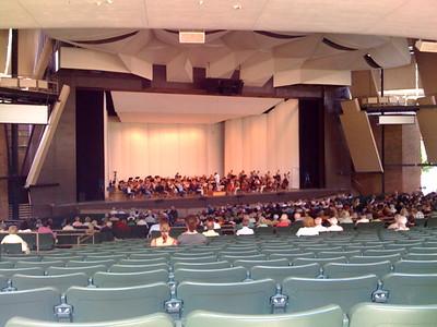 Philadelphia Orchestra Members Rehearsal - 8/9/08