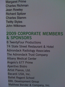 Our name first on the SPAC Corporate Sponsors board
