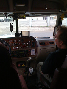 Inside a Peterbilt Tower