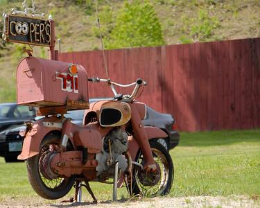 Motorcycle Mailbox - Boscawen, NH