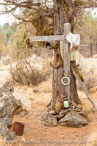Grave Marker - Sisters Oregon