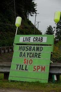 Oregon Marina sign.