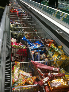 Wide selection of icecream