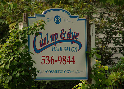 Plymouth NH hair salon.  Loved the name