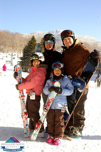 Ouellette Family-Mar.3rd-Smugglers' Notch