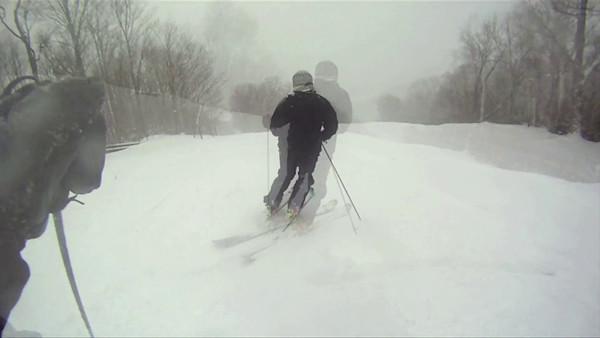 Skiing on Friday the 13th - w/ Alex U.
