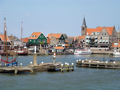 Judy Hazel - Fishing village of Volendam_The Netherlands
