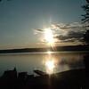 Patricia  Libby - Sunrise on Sebago Lake Maine