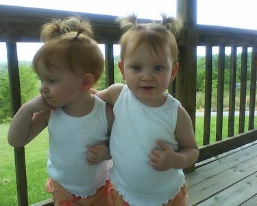 My beauitful girls, Miracle and MaKayla