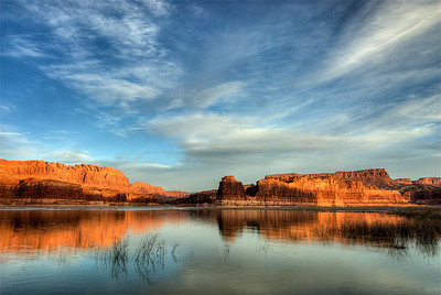 Dawn at Lake Powell