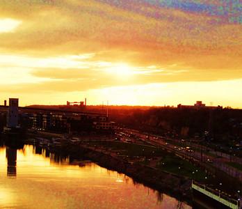 Jeffrey B. Adams - St. Paul sunset