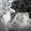 Jared Carlson - Waterfall, Mendenhall Glacier Terminus, Juneau AK
