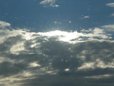 Lite through a cloudy day