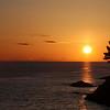 Hannelore Clay - Sunrise over Strait of Juan de Fuca