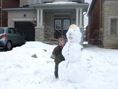 Zvi Vaxman - winter 2010 - snow man ediiton