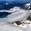 Jared Carlson - Aerial View of Herbert Glacier, Juneau AK