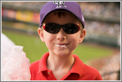 Baseball and Cotton Candy - Could It Get Any Better?