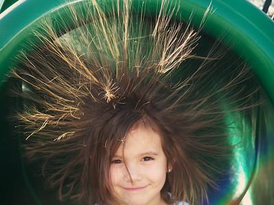 hair rasing fun