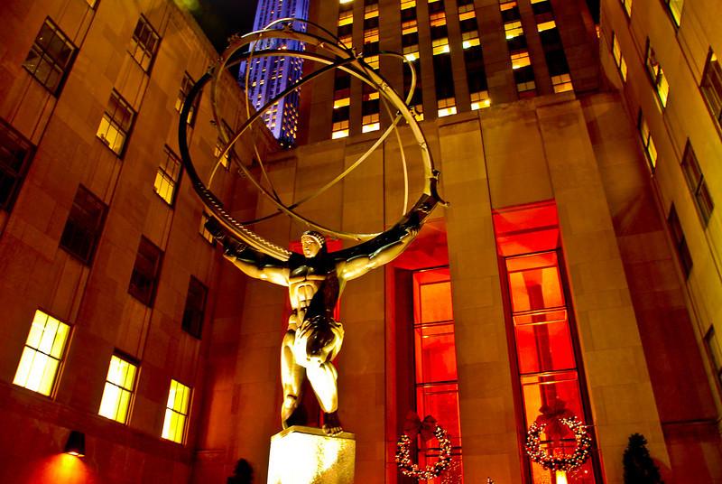 Atlas, ROCKEFELLER CENER, NYC