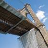 BROOKLYN BRIDGE WATERFALLS