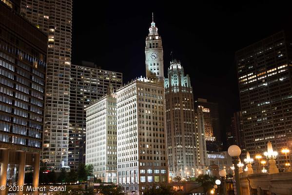 Beautiful Chicago Nights
