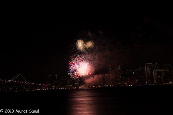 San Francisco 2013 Fireworks