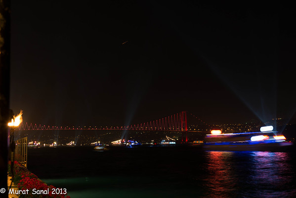 2013 Independence Day Fire Works  - Istanbul